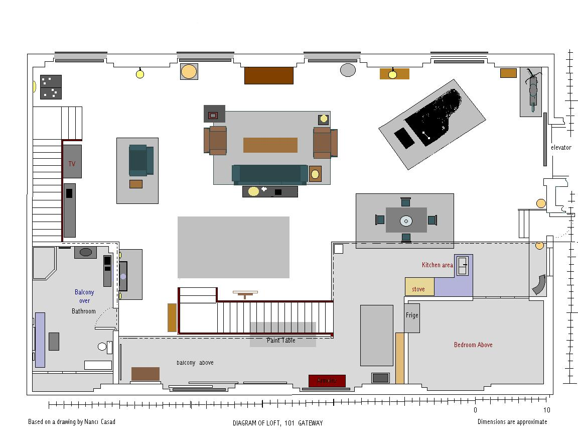 3rd Season Loft layout -- main level
