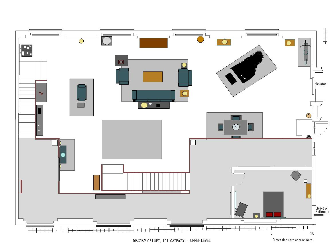Nick 39 s loft floor plans 2nd floor loft ideas